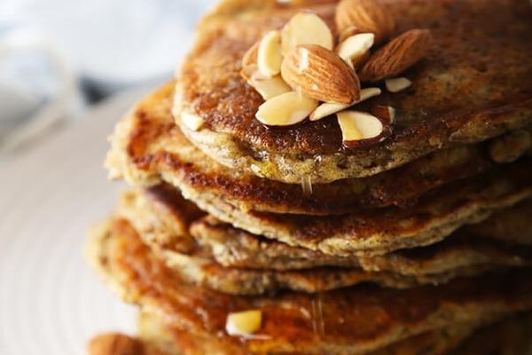 Flaxseed and almond flour keto pancakes