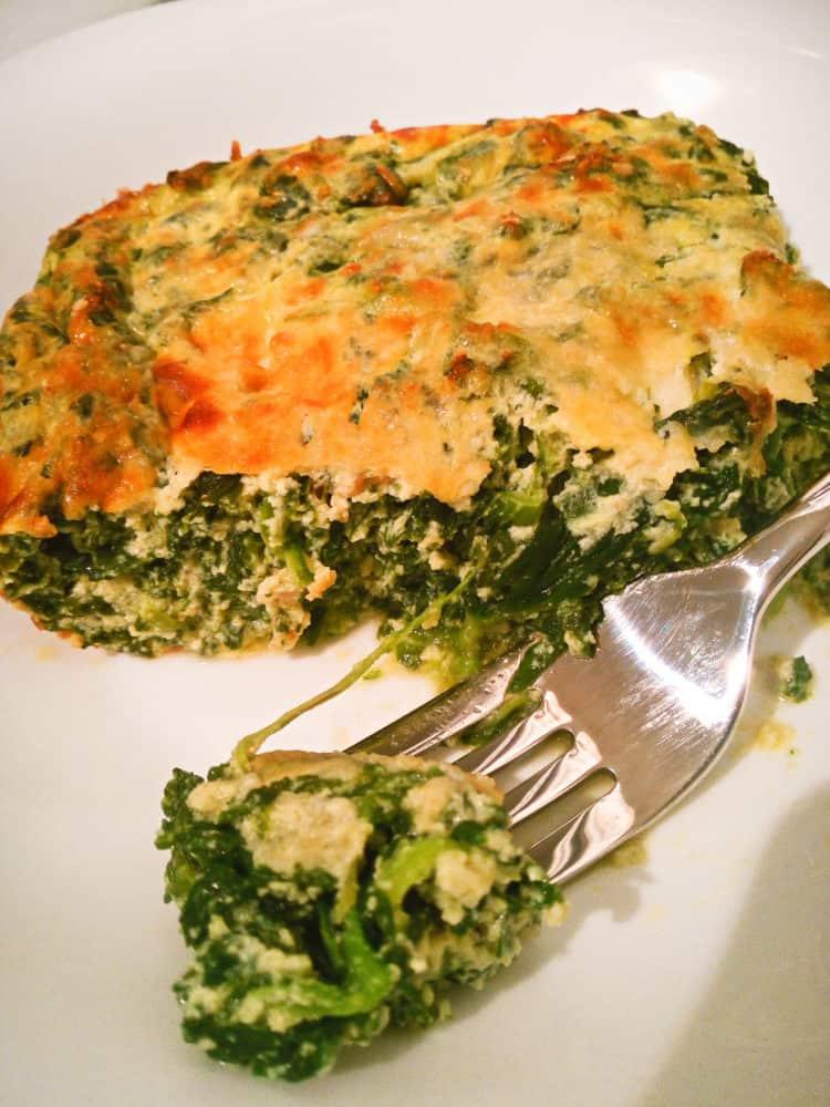 Keto Ricotta and Spinach Casserole