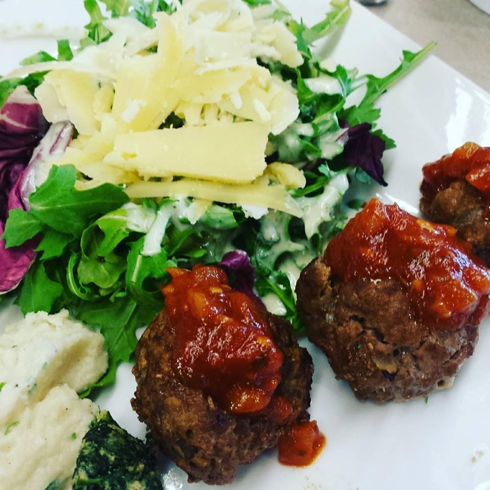 Keto beef liver cutlets