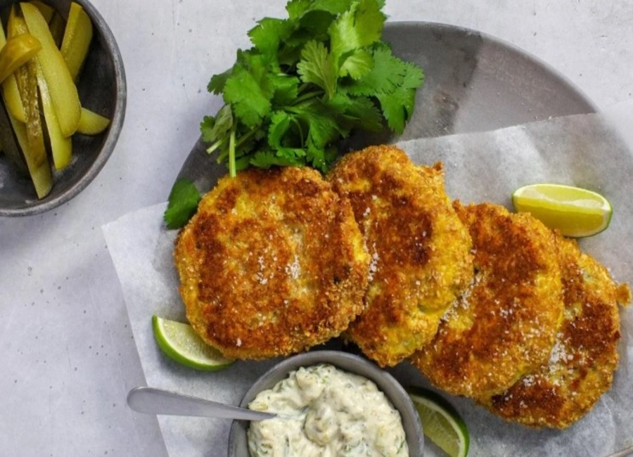 Fish keto cutlets