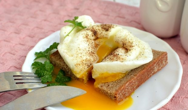Best Poached egg in the microwave