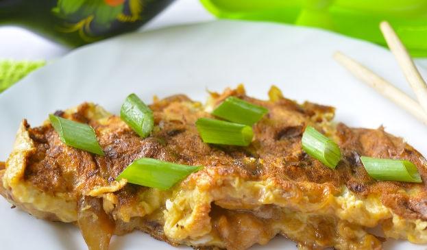 Oyakodon (Japanese omelet)