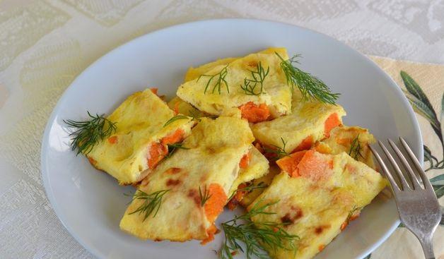 Pumpkin omelet
