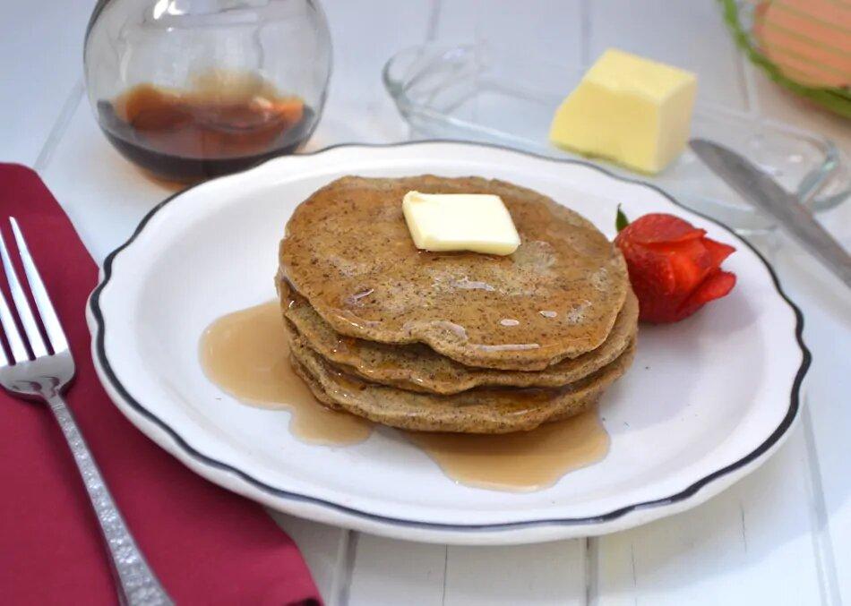 Flaxseed keto pancakes