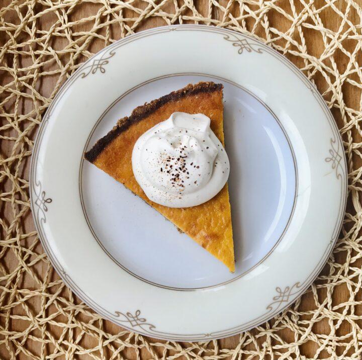 Low Carb Dessert: Delicate Pumpkin Pie
