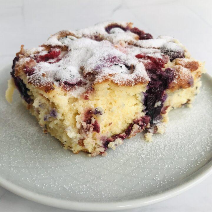 Dessert Recipe: Low Carb Sponge Cake