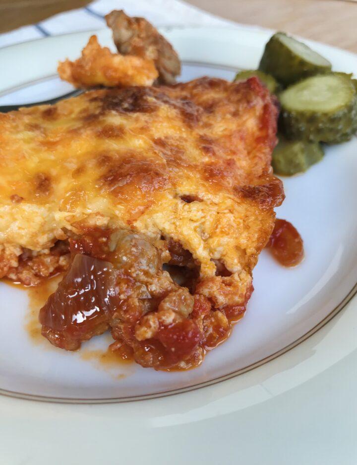 Express Dinner: Meat Casserole