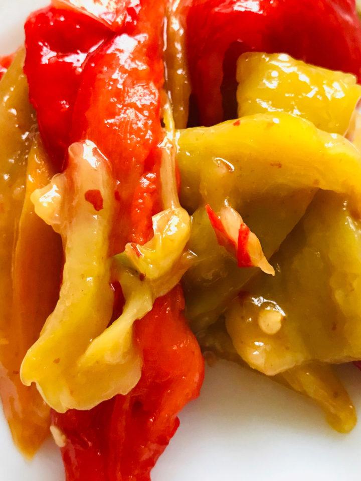 Keto snack: bell pepper