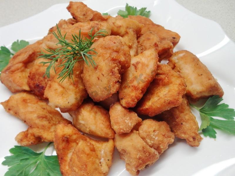 Chicken fillet pork chop