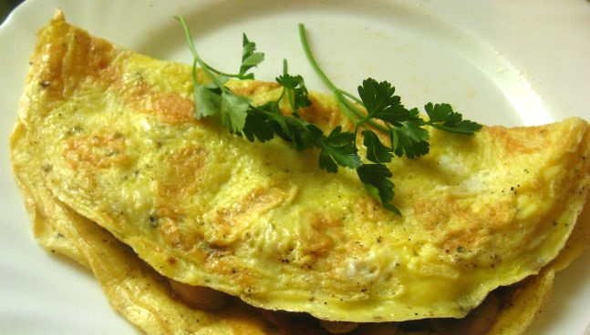 Best Omelet with mushrooms
