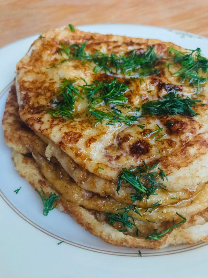 Keto Bread: Indian Naan Tortillas