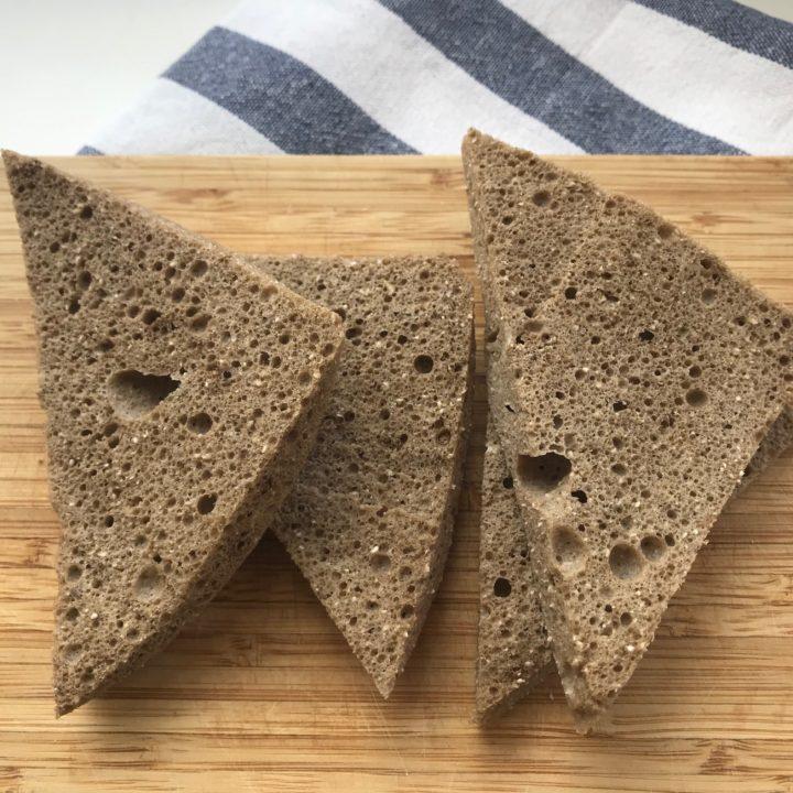 Keto bread in 3 minutes