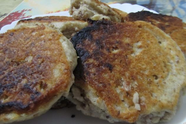 Bean and potato cutlets