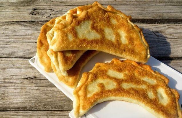 Chinese style potato pies