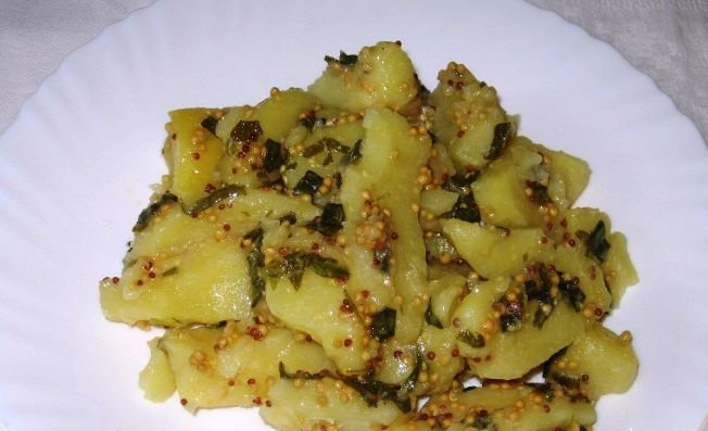 Mustard potatoes