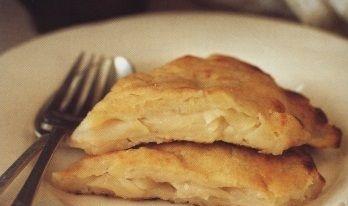 Apple pie with potato crust