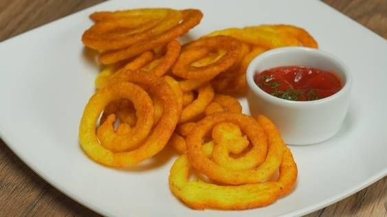 Curl Chips (Homemade Snacks)