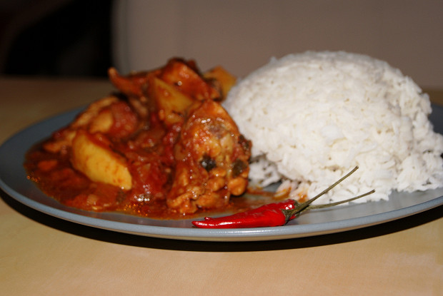 Masala with basmati rice
