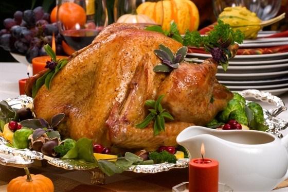 Turkey stewed with rice