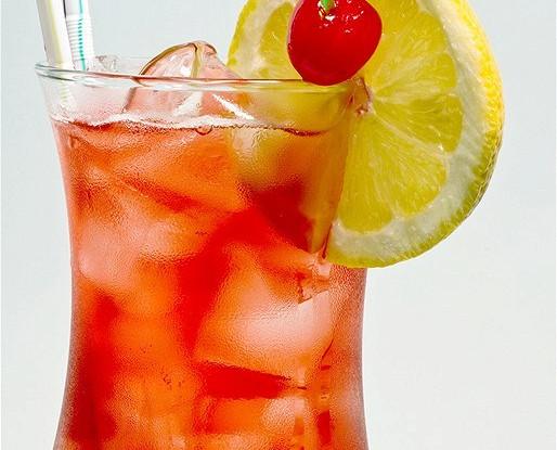 Valentine's Day Raspberry Lemon Cocktail