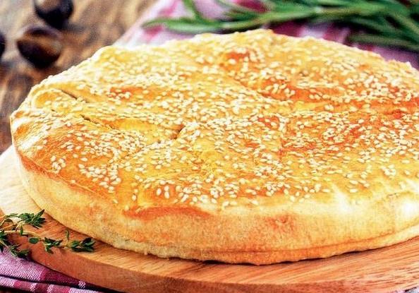Greek Pie with Rice and Potatoes (Patatopita)