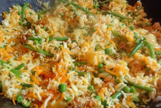 Pan Asian Vegetarian Fried Rice
