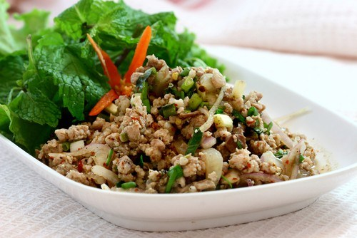 Rice with chicken liver, celery and green pepper