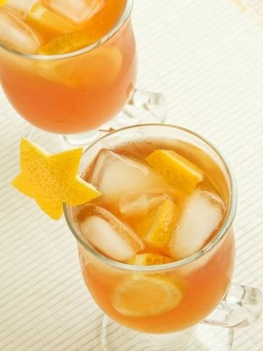 Orange peel drink