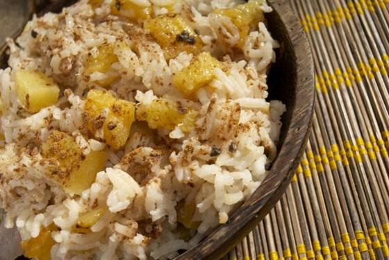 Hawaiian baked rice