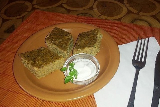 Liver pate with rice