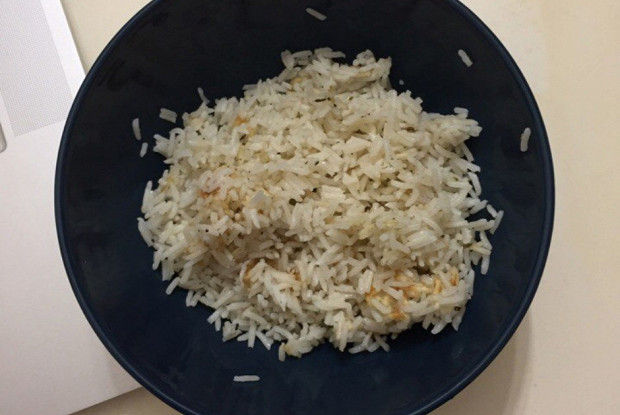 Rice with ginger