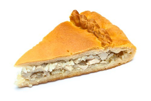Microwave Rice and Chicken Pie