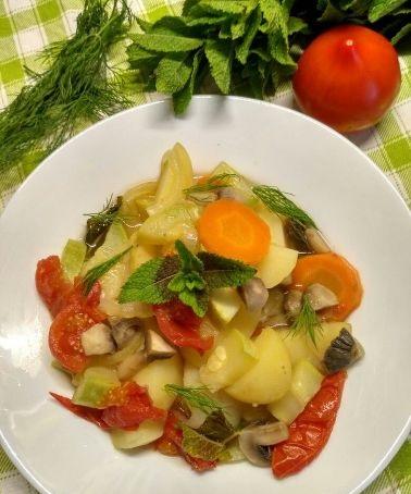 Moldavian vegetable stew