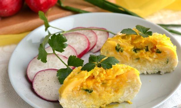 Vermicelli in egg