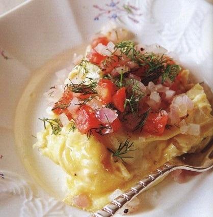 Gorgeous omelet