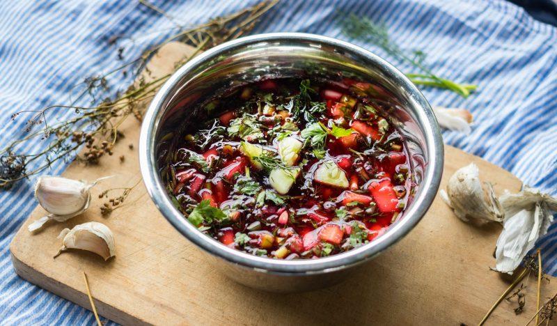 Chrianteli - cold Georgian soup