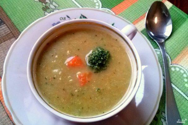 Diet broccoli soup