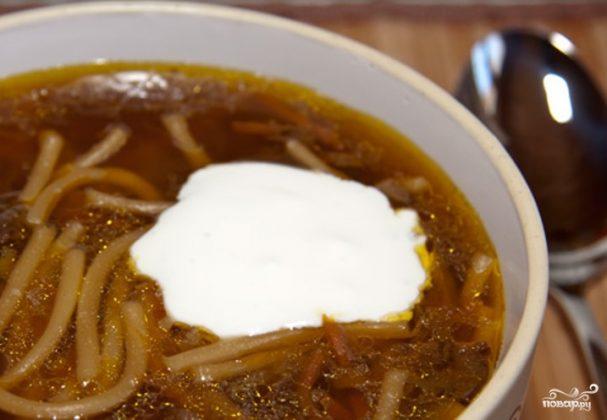 Dry mushroom soup