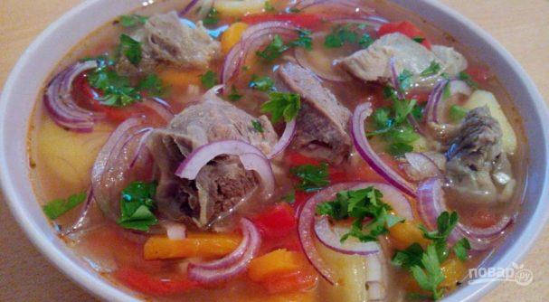 Lamb Shurpa soup
