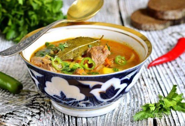 Pork Shurpa soup