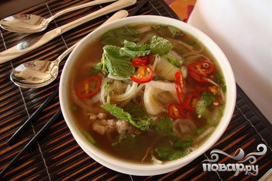 Thai fish broth