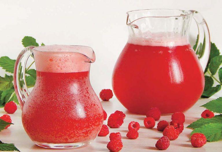 Raspberry kvass