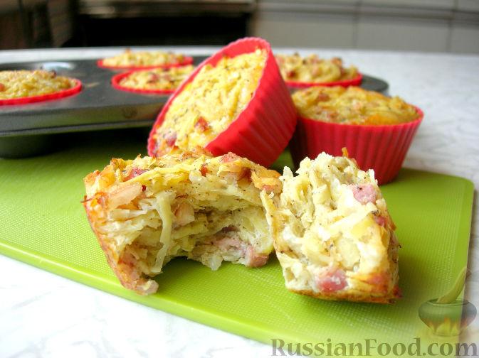 Unsweetened potato muffins (no flour)