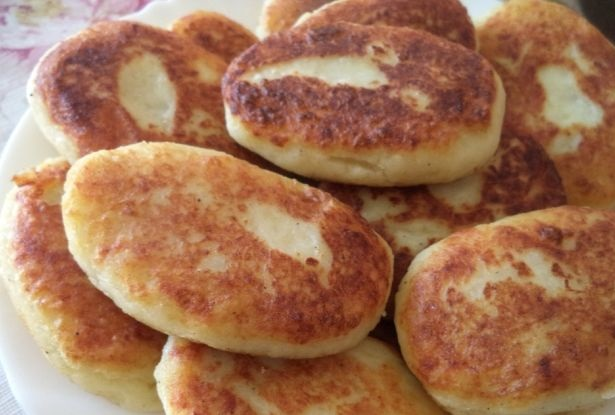 Potato cutlets with chicken meat