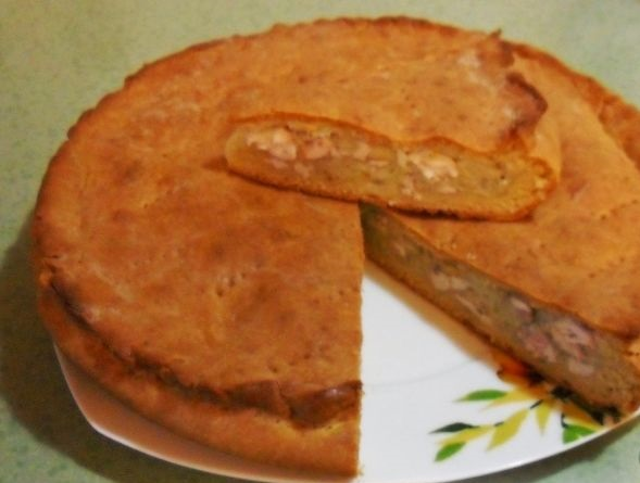 Quick Chicken and Potato Pie