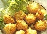 Deep-fried potato balls