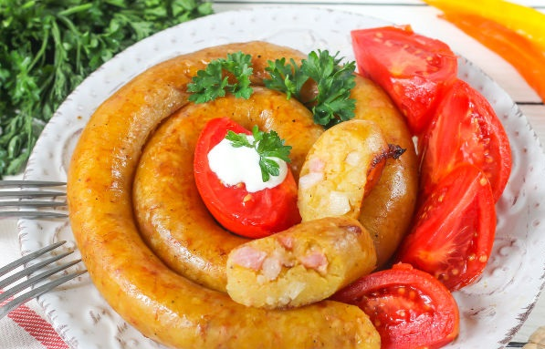 Vedarai (Lithuanian potato sausage)