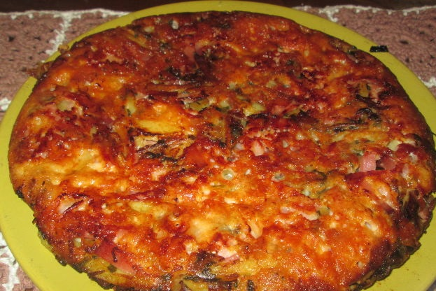 Friko with potatoes and onions