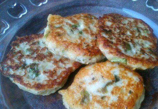 Potato and zucchini pancakes