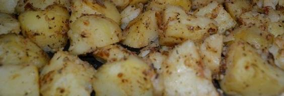 Polish baked potatoes